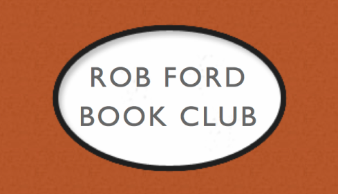 ROB FORD'S BOOK CLUB