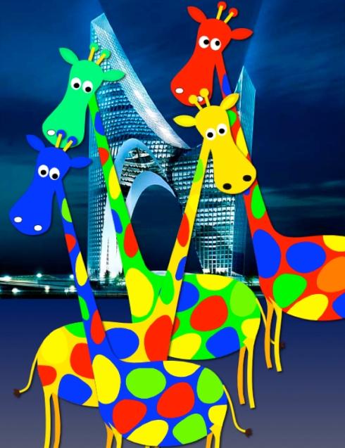 COSMIC PANDA - THE GIRAFFES
