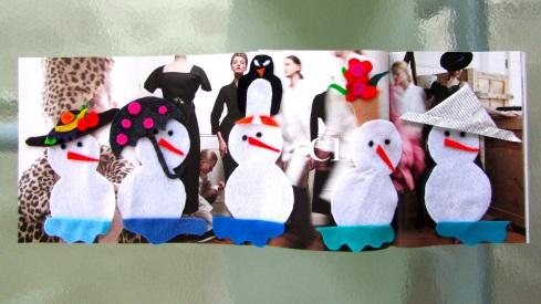 5 Little Snowgirls 2