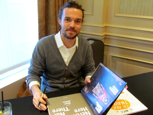 OLIVER JEFFERS VANCOUVER - BOOK SIGNING