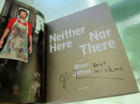 OLIVER JEFFERS VANCOUVER - JEFFERS' AUTHOGRAPH