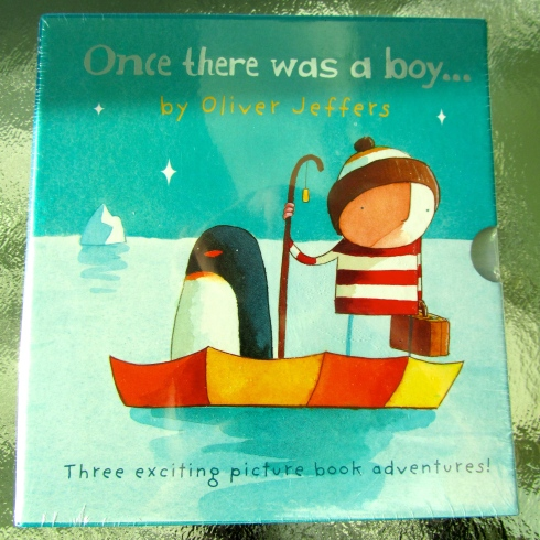 OLIVER JEFFERS VANCOUVER - ONCE THERE WAS A BOY