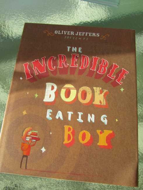 OLIVER JEFFERS VANCOUVER - THE INCREDIBLE BOOK EATING BOY