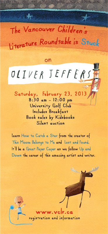 OLIVER JEFFERS IN VANCOUVER - VCLR CARD FRONT