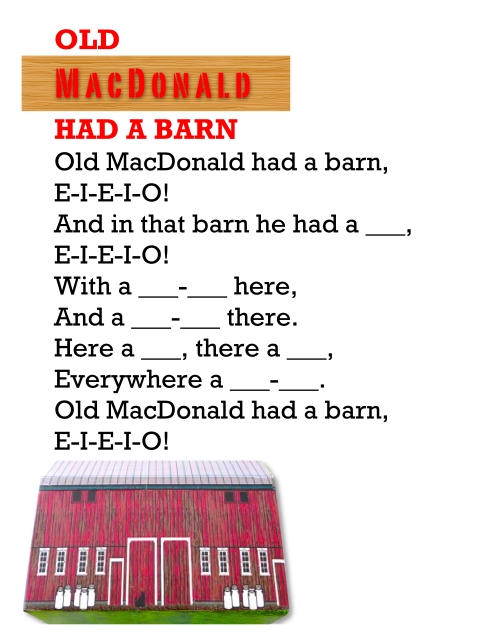 OLD MACDONALD FOR GUYBRARIAN